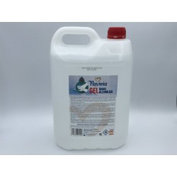 Navinia 5L - Gel Hidroalcohólico Cosmética 70% mezcla de alcohóles etílico/ isopropilico
